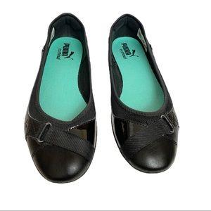 Puma Shoes - 🌸Puma Bixley Glamm Black Ballet Flats